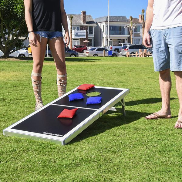 GoSports Cornhole PRO Regulation Size Bean Bag Toss Game Set