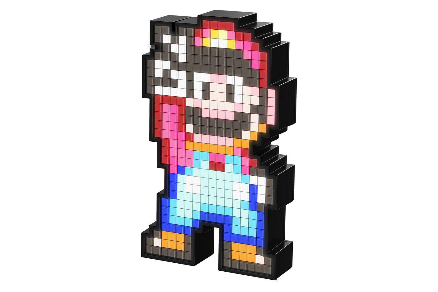PDP Pixel Pals Nintendo Super Mario World Mario Collectible Lighted Figure