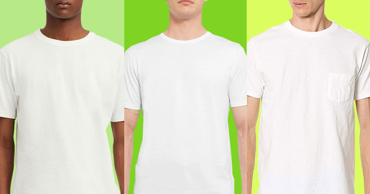 The Best Men's White T-shirts, According to Stylish Men