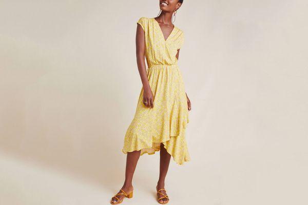 Anthropologie Fete Midi Dress