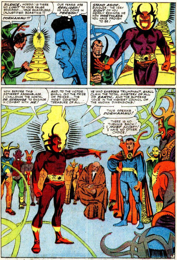 Who Is Dormammu Doctor Stranges Cosmic Villain