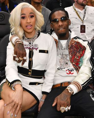 Image result for I plan to have more kids - Cardi B reveals why she is working things out with Offset