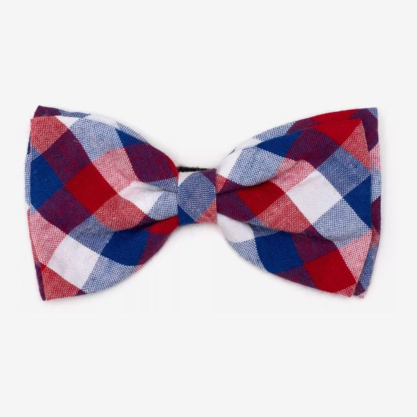 The Worthy Dog Check Bow Tie