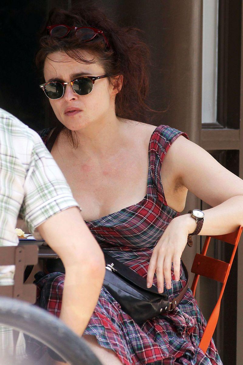 Helena Bonham Carter 16 Amazing Women With Armpit Hair