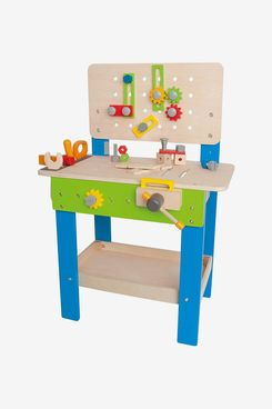 Hape Master Wooden Workbench for Toddlers