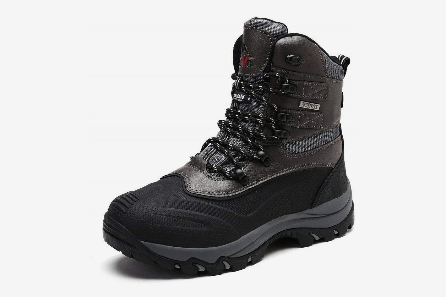 a441dd3858c Arctiv8 Men s Insulated Waterproof Construction Rubber Sole Winter Snow  Boots