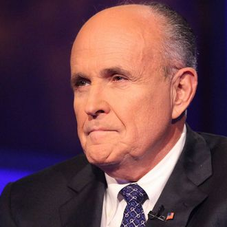 Rudy Giuliani visits