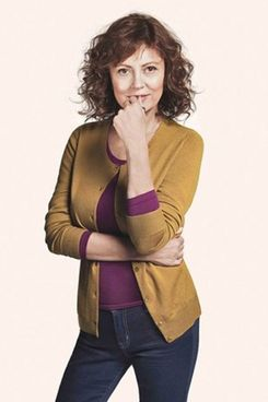 Susan Sarandon for Uniqlo.