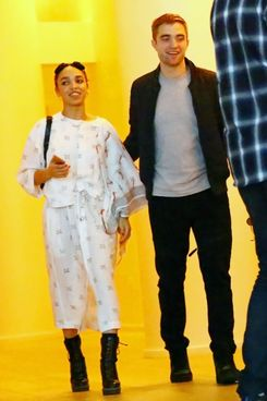 A couple! Their names are Robert Pattinson and FKA Twigs.