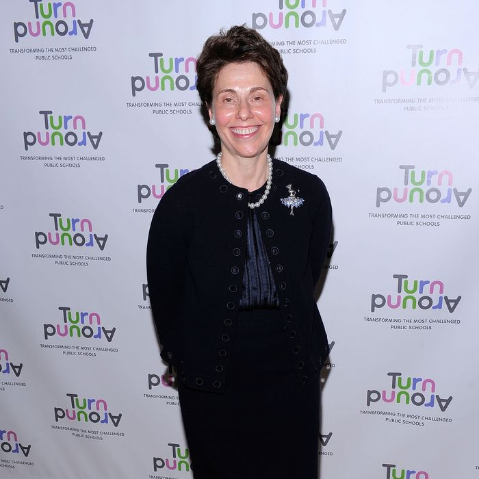 Chancellor Merryl H. Tisch attends the 2010 Turnaround For Children benefit dinner at The Plaza Hotel on April 13, 2010 in New York City.