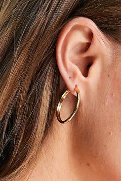Asos Design Gold Plated Hoop Earring