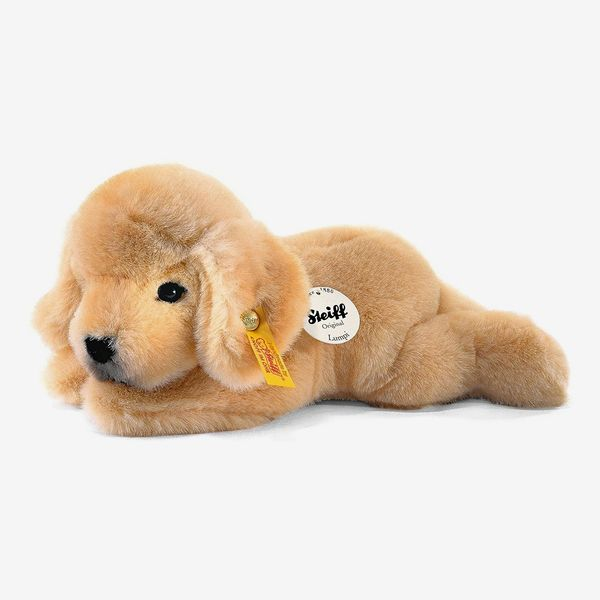 Steiff Lumpi Golden Retriever Puppy