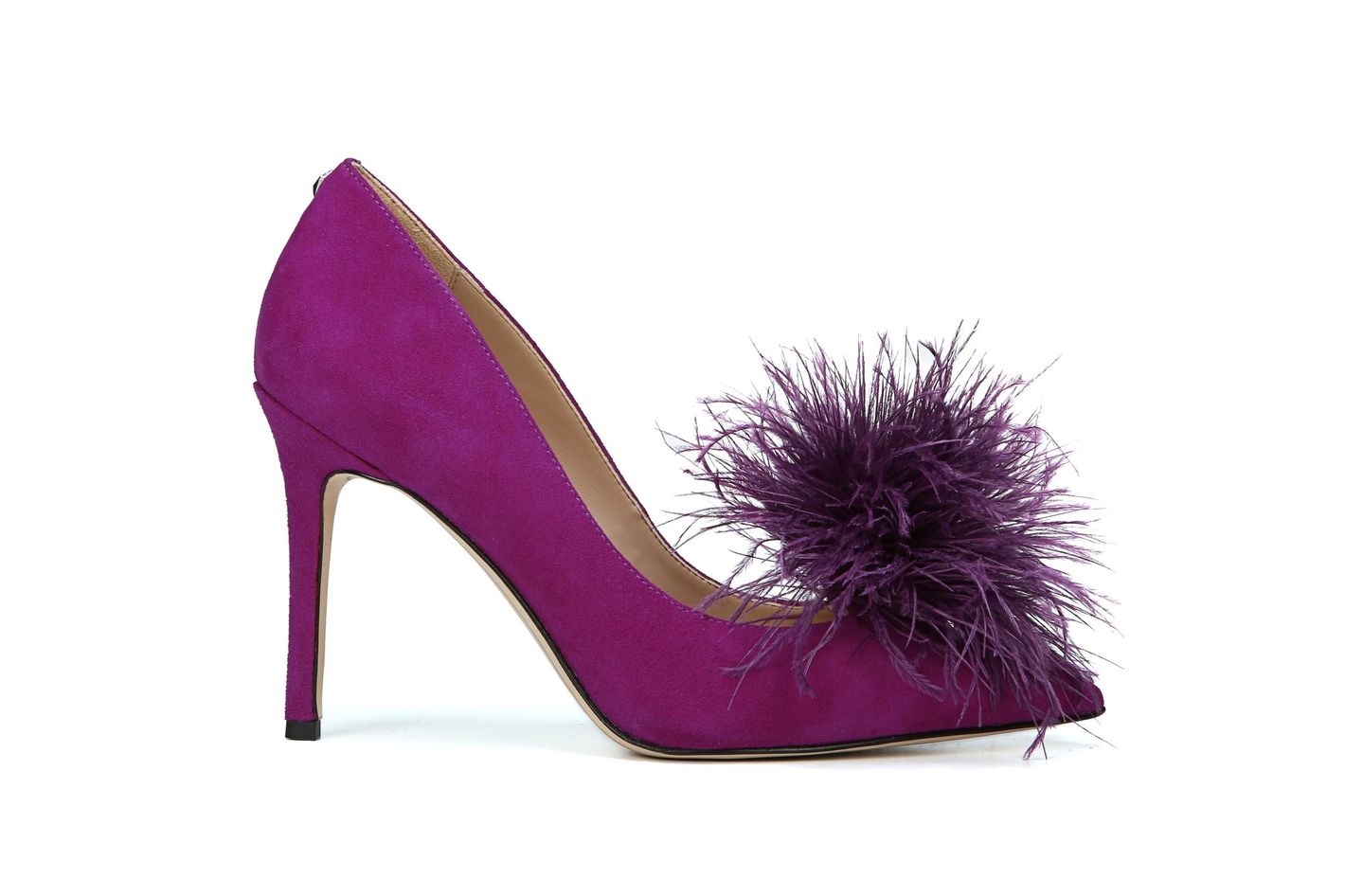Sam Edelman Haide Feather Pompom Pump