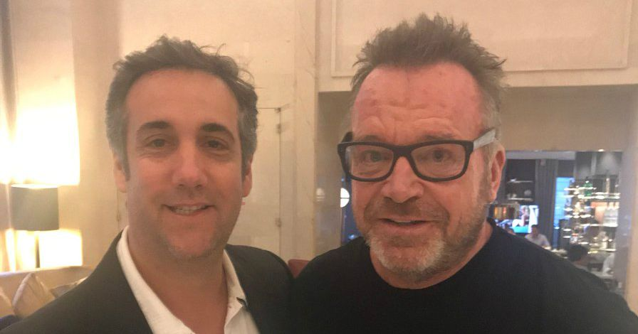 Michael Cohen Denies Giving Tom Arnold Any Dirt on Trump for His Vice Show