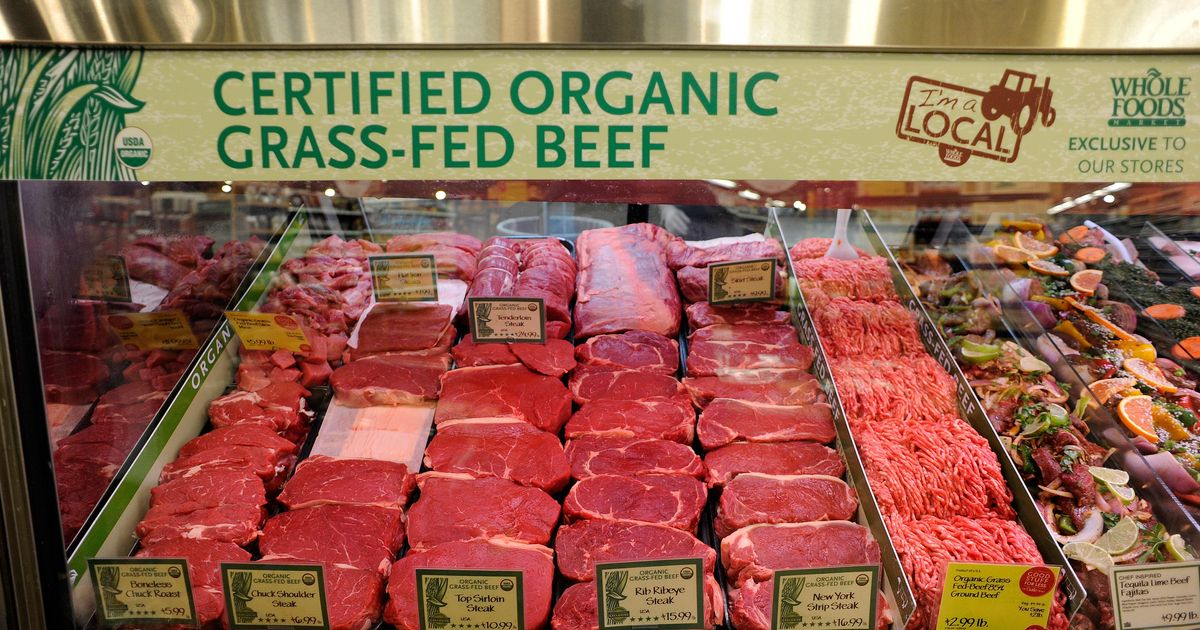 Is All Whole Foods Meat Organic
