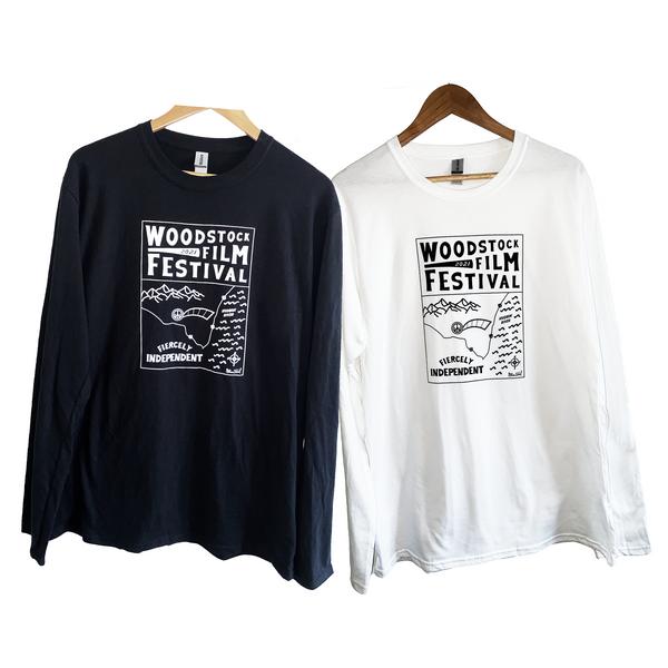 Woodstock Film Festival 2021 Long-Sleeved Shirt
