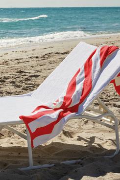 Cassadecor Hampton Stripe Beach Towel