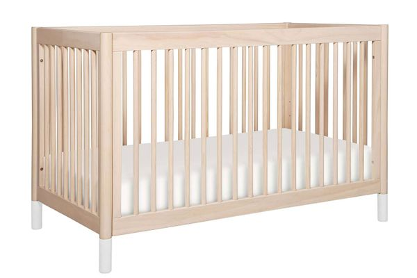 Gelato 4-in-1 Convertible Crib With Toddler Bed Conversion Kit