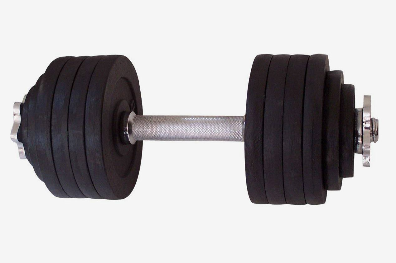 Unipack One Pair of Adjustable Dumbbells Kits — 200 lbs.