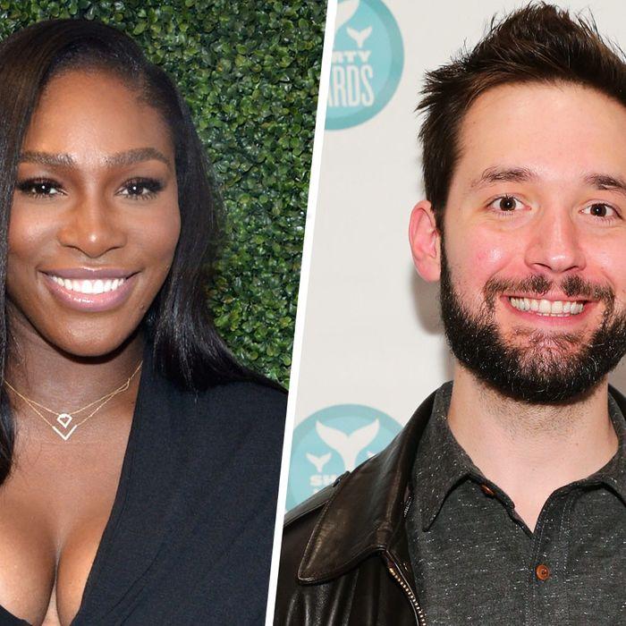 Meet the new future Mr. Serena Williams, Alexis