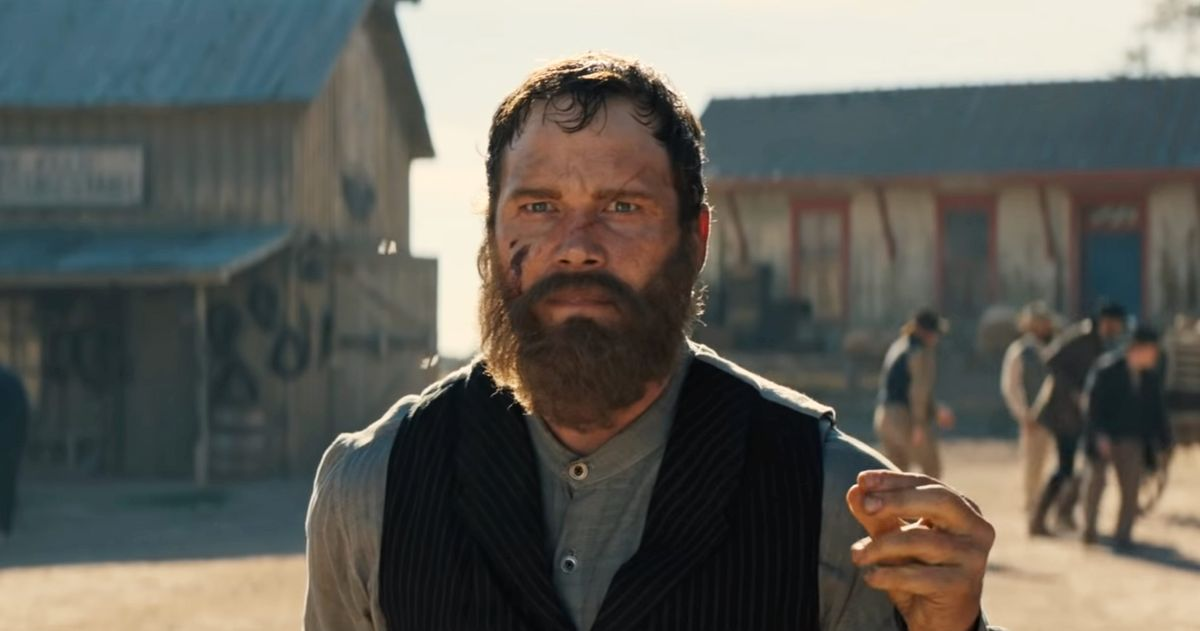 Movie Poster 2019: 'The Kid' Is A Grim Old West Adventure For Chris Pratt