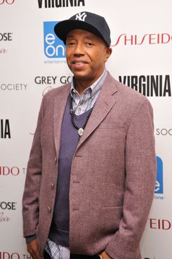 "Russell Simmons attends a Screening Of ""Virginia"" at Crosby Street Hotel on May 14, 2012 in New York City."