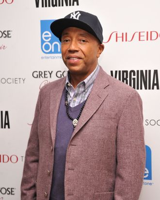 Russell Simmons attends a Screening Of