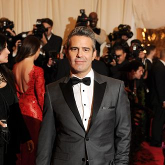 Andy Cohen attends the Costume Institute Gala for the