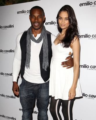 Tyson Beckford and Shanina Shaik.
