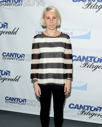 NEW YORK, NY - SEPTEMBER 11: Zosia Mamet attends the Annual Charity Day Hosted by Cantor Fitzgerald and BGC at Cantor Fitzgerald on September 11, 2014 in New York City. (Photo by Noam Galai/Getty Images for Cantor Fitzgerald)