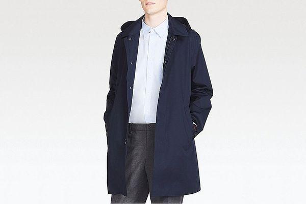 Men Blocktech Convertible Collar Coat
