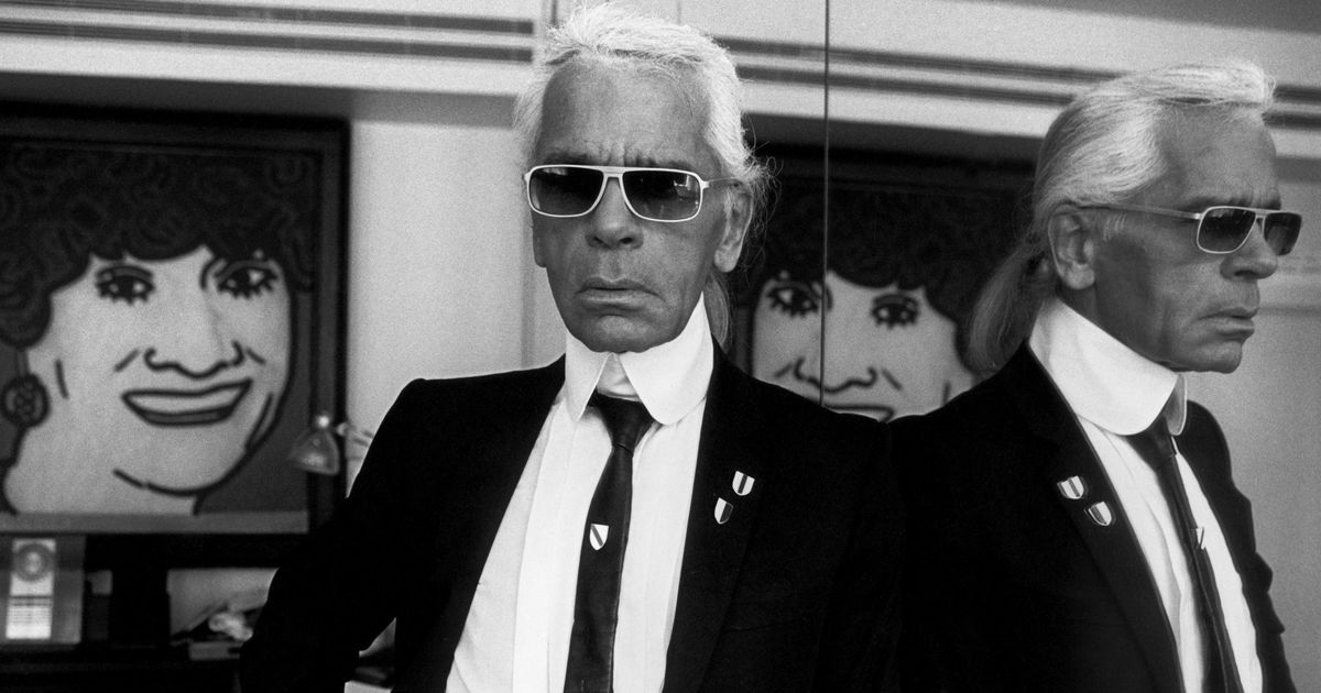 Lagerfeld Spoke Fluent Chanel — With His Own Accent