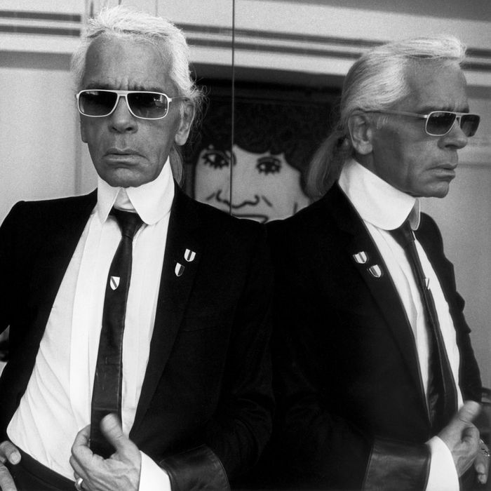 438b5a2d11cf Lagerfeld Spoke Fluent Chanel — With His Own Accent