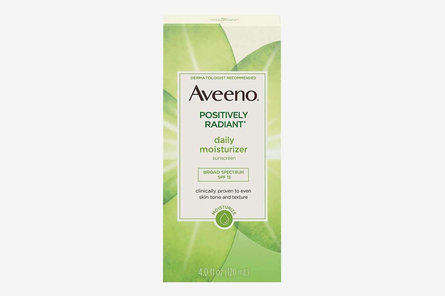 Aveeno Positively Radiant Daily Face Moisturizer with Broad Spectrum SPF 15