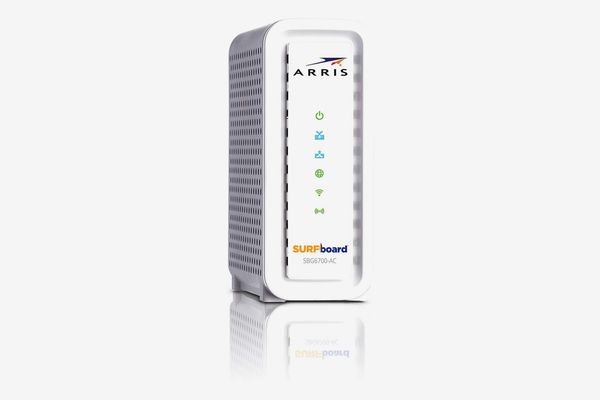 ARRIS Surfboard (8x4) DOCSIS 3.0 Cable Modem Plus AC1600 Dual Band Wi-Fi Router, 343 Mbps Max Speed