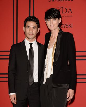 Altuzarra with Stella Tennant.