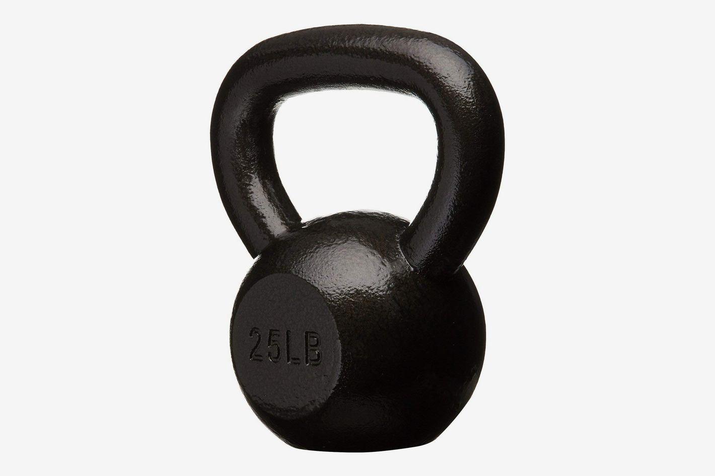 AmazonBasics Cast Iron Kettlebell (25-Pound)