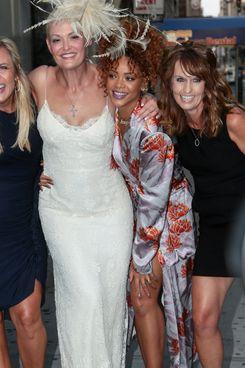 Stylist Sonya Benson and Rihanna.