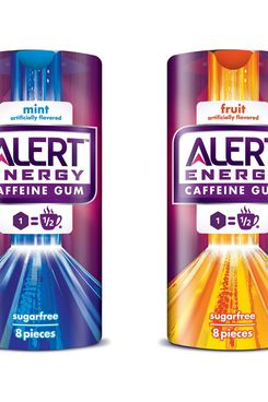 Wrigley will start selling a caffeinated gum with the equivalent of about half a cup of coffee. Alert Energy Caffeine Gum, Wrigley's effort to tap into the growing market for energy drinks, will be sold in convenience stores and food and drug retailers.