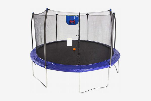 Trampoline Bounce Jump Safety Enclosure Net W// Spring Pad Outdoor Clevr 7 Ft