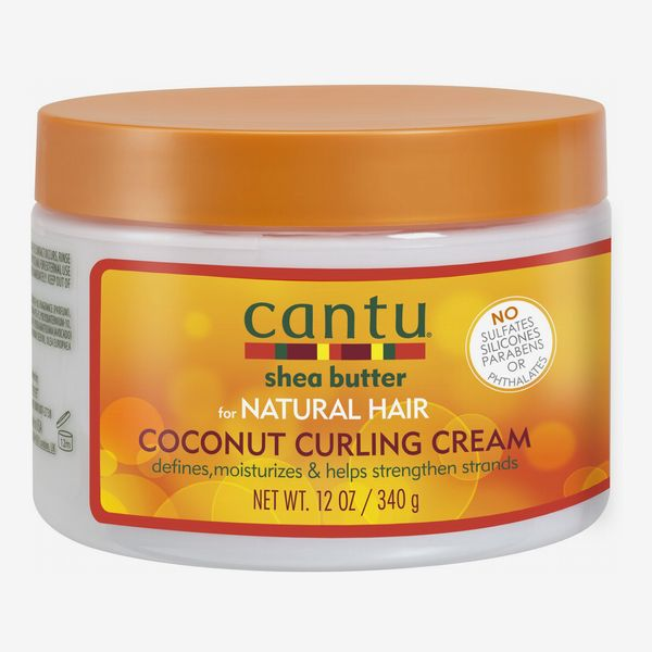 Cantu Shea Butter Coconut Curling Cream for Natural Hair, 12 oz