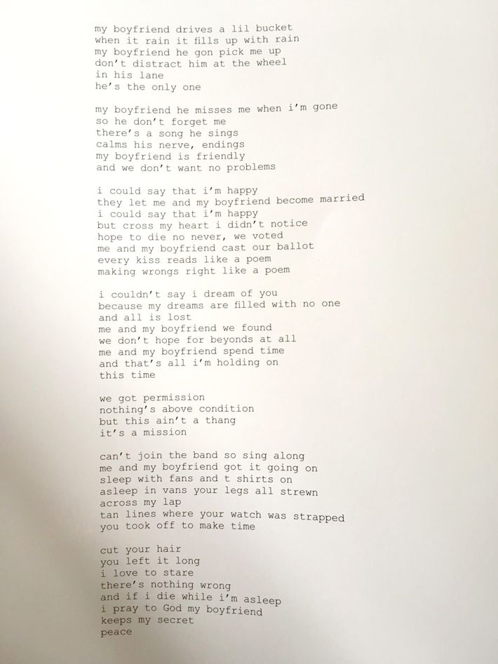 Read Frank Oceans Powerful Boyfriend Poem From His Boys Dont Cry