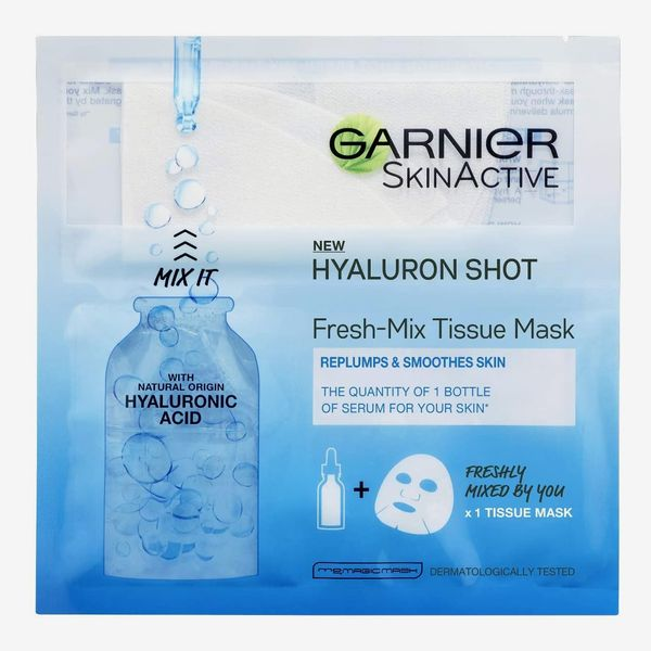 Garnier Fresh-Mix Replumping Tissue Mask With Hyaluronic Acid