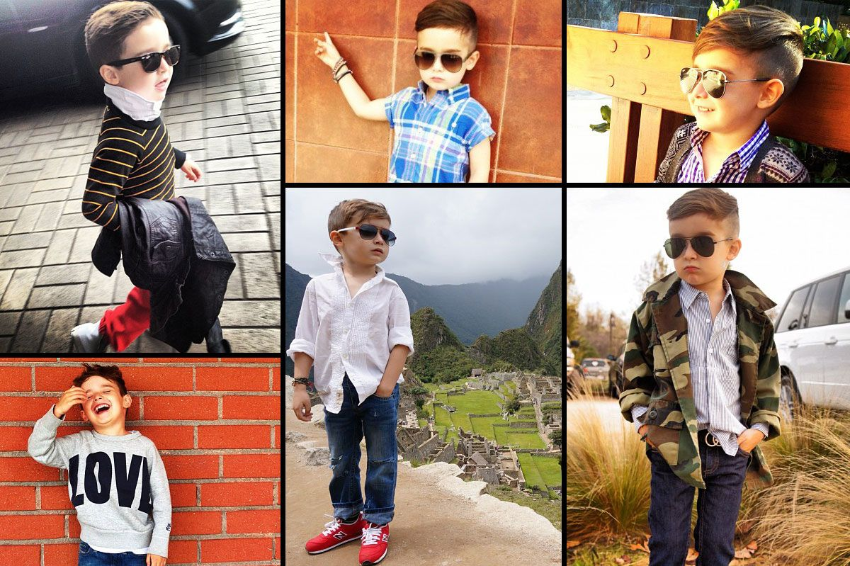 The YearOld Boy Whos Become An Instagram Style Icon - Meet 5 year old alonso mateo best dressed kid ever seen
