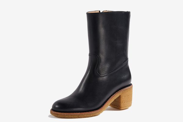 A.P.C. Paz Boots With Block Heels