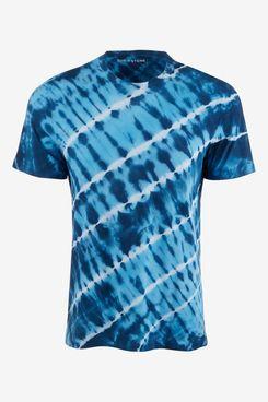 Sun + Stone Men's Tidal Wave Tie Dye T-Shirt