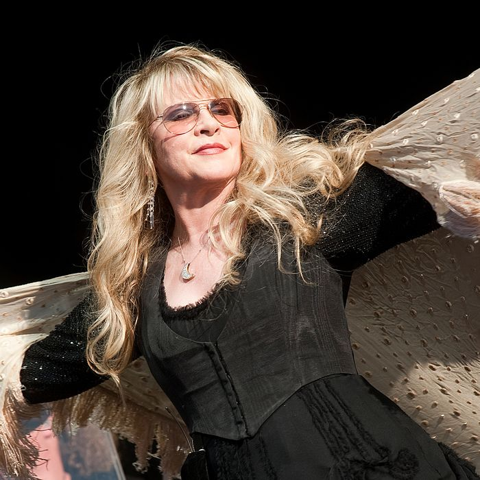Stevie Nicks and shawl.