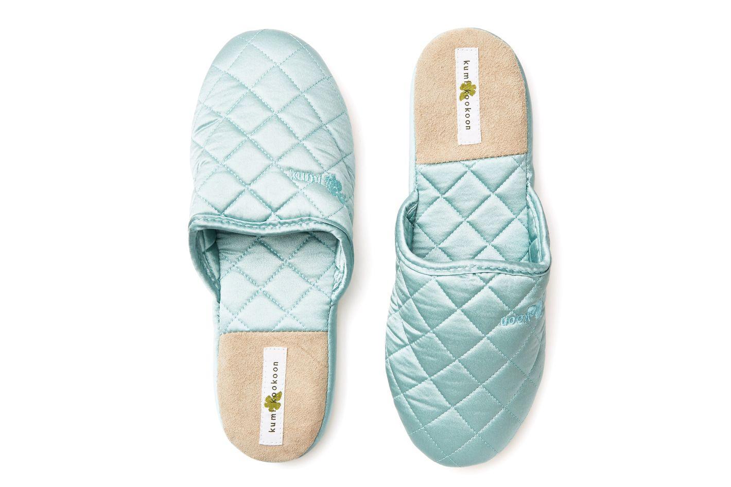 Kumi Kookoon Silk Slippers