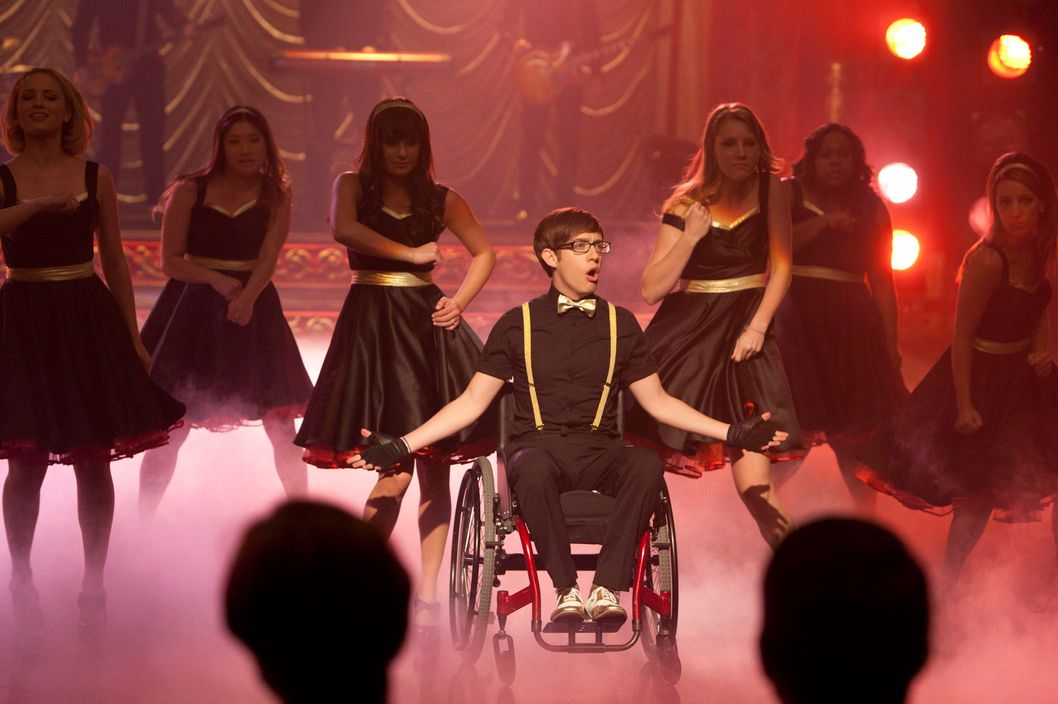 "GLEE: New Directions perform at Regionals in the ""On My Way"" Winter Finale episode of GLEE airing Tuesday, Feb. 21 (8:00-9:00 PM ET/PT) on FOX."