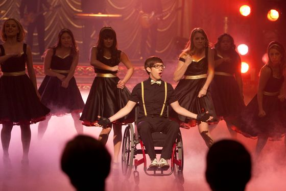 "GLEE: New Directions perform at Regionals in the ""On My Way"" Winter Finale episode of GLEE airing Tuesday, Feb. 21 (8:00-9:00 PM ET/PT) on FOX. ©2012 Fox Broadcasting Co. Cr: Adam Rose/FOX"